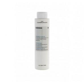 Korres Emulsión de Proteínas de la Leche 200 ml - Limpiadora 3 en 1 para Todo Tipo de Piel