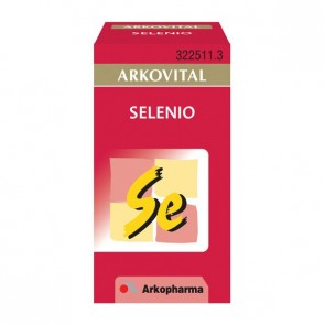 Arkovital Selenio 50 cáps. - antioxidante, antienvejecimiento