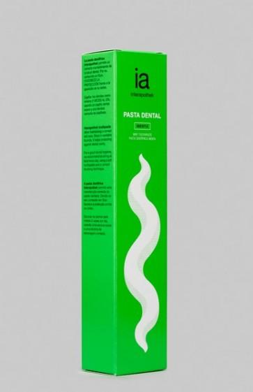 Pasta Dental con Flúor 75 ml Sabor a Menta de Interapothek - Uso Diario para Todo Tipo de Encías
