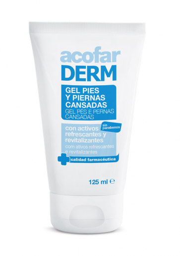Acofar GEL pies y piernas cansadas 125 ml - guaraná, mentol