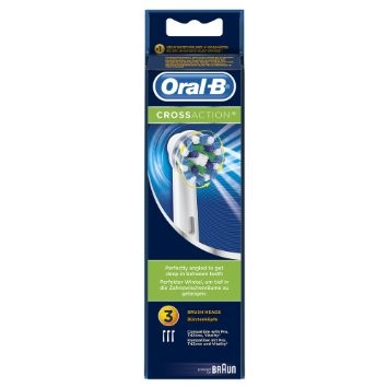 Oral-B Cabezal Cross Action 3 Recambios