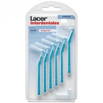Cepillo Lacer Interdental Cónico Angular 6 uds - Llega donde ninguno más lo hace