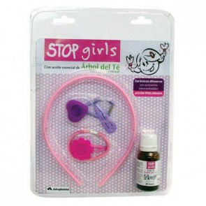 Stop Piojos Girls aceite esencial de Árbol de té + accesorios cabello niñas
