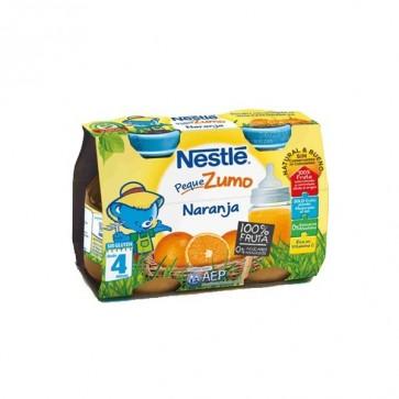 Zumo de Naranja Nestlé 100% Fruta Natural - Sin Conservantes Ni Colorantes - Bipack 2 Unidades 125 ml
