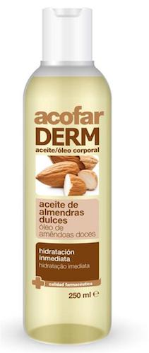 Acofar ACEITE de almendras dulces 250 ml - estrías, ácidos grasos, vitaminas