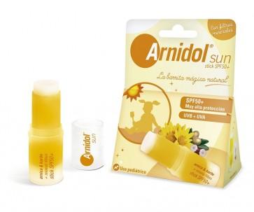 Arnidol Sun Stick SPF 50+ 15g - Protección Solar UVA y UVB Niños