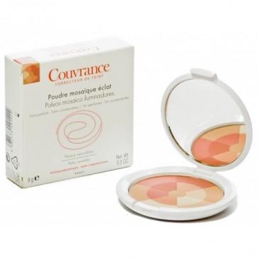Avène Couvrance Polvos Mosaico Iluminador 9 g - Matifica, Fija y Modela el Maquillaje, Piel Sensible
