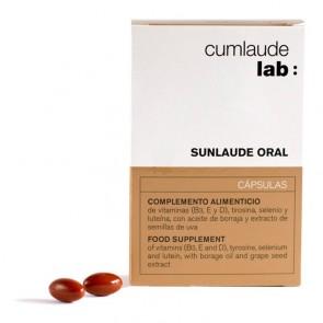 Sunlaude Oral Cumlaude 30 Cápsulas - Complemento Fotoprotección, Refuerza para la Exposición Solar