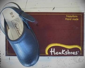 Zueco Hankshoes Relax Azul Nº 39 - Calzado Adulto