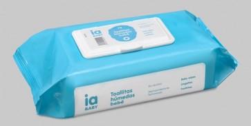 Recambio con Tapa de 72 Toallitas para Bebé de Interapothek - Dermoprotectoras Limpieza del Culito del Bebé