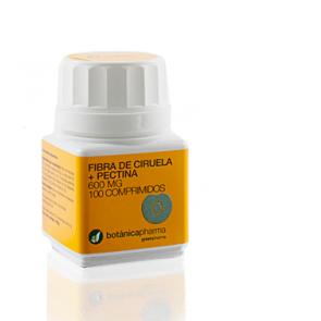 Fibra Ciruela + Pectina 500mg 100 Comprimidos Botanicapharma - Contra el Estreñimiento y Hemorroides