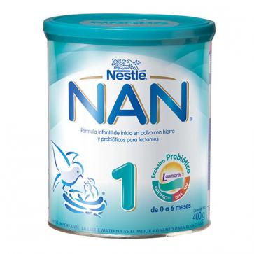 Nestlé Nan Expert 1 400 gr - Leche Inicio