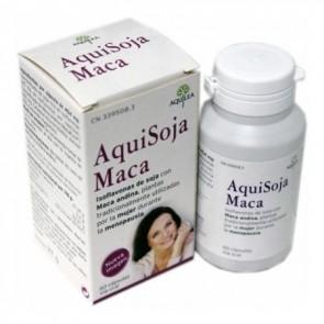 Aquisoja Maca 60 Cápsulas - Menopausia y Vitalidad de la Mujer