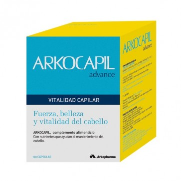 Arkocapil Advance 120 cáps. - caída del cabello, crecimiento del pelo