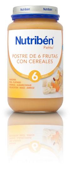 Comprar Nutriben Grandote Postre 6 Frutas con Cereales