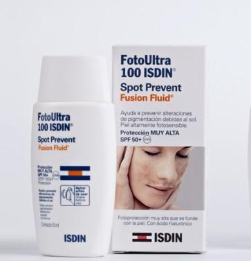 Fotoultra 100 ISDIN Active Unify Fusion Fluid 50ml - Despigmentante con protección Solar