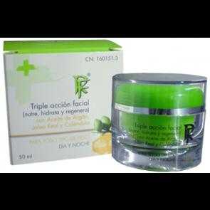 Rueda Farma Triple Acción Facial 50 ml - Crema Antiarrugas