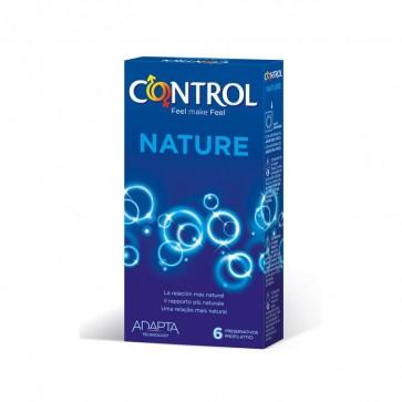 Control Adapta Nature 6 Preservativos - Máxima Adaptabilidad