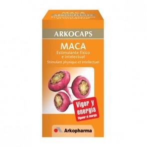 Arkocaps Maca 45 cápsulas. - Vigorizante, Rendimiento Físico y Mental