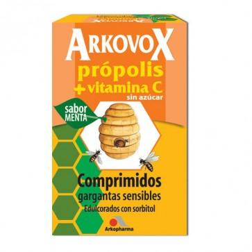 Arkovox Própolis + Vitamina C 24 comps. sabor Menta