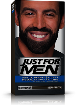Comprar Just For Men Barba Bigote Patillas Negro 30 Ml