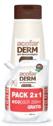 PACK Acofar gel coco 750ml + ECOPAC 250ml - hidratante, higiene, piel, tonificar