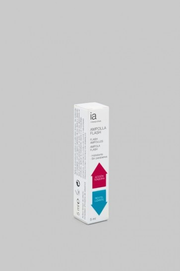 Ampolla Flash 5 ml de Interapothek - Efecto Tensor y Antiarrugas para Rostro y Cuello