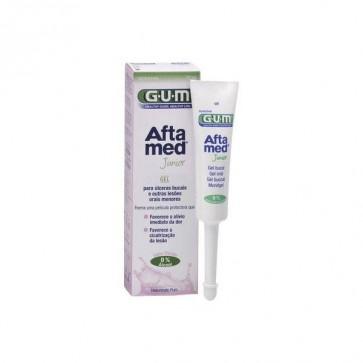 Gum Aftamed Gel Bucal Junior 12ml - Trata las Úlceras Bucales y Otras Lesiones Menores en Niños