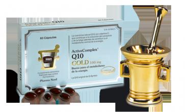 ActiveComplex Q10 Gold 60 capsulas - Incrementa tu energía Día a Día