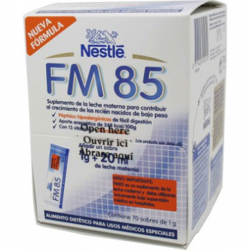 Nestlé Leche Fm 85 - Fortificante Leche materna