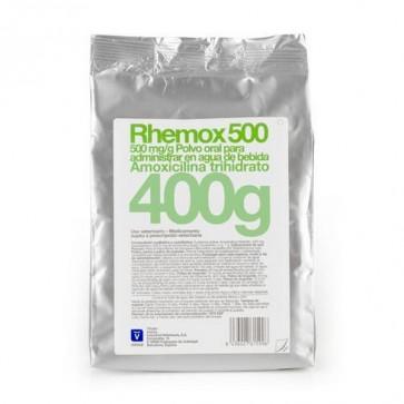 Rhemox 500 gr Polvo Oral 1 Sobre de 400 gr - Infecciones Porcinas, Tratamiento de Pasteurelosis y Colibacilosis en Aves
