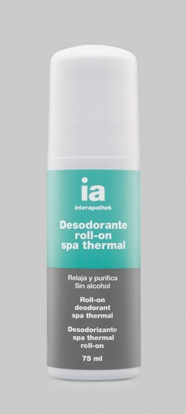 Desodorante Roll On Spa Thermal 75 ml de Interapothek - Relaja y Purifica
