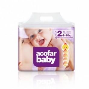 Acofarbaby Pañal Infantil T.2 4-10 Kg 32 Ud