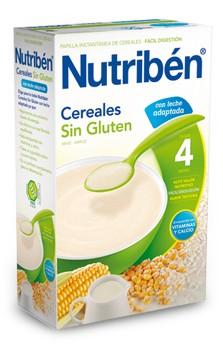 Nutribén Papilla Sin Gluten Con Leche Adaptada 300 Gr