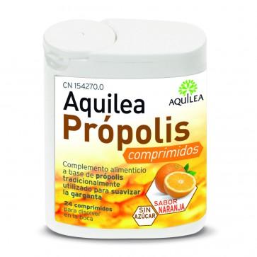 Aquilea Própolis Sabor Naranja 24 comprimidos - Garganta