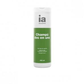 Interapothek Champú 2 en 1 con Leche de Almendras 400 ml - Champú con Acondicionador