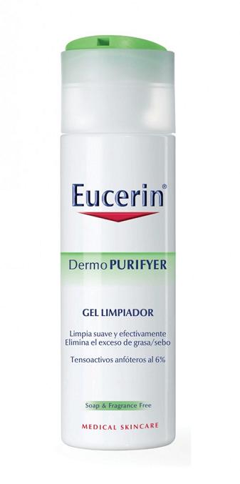 Eucerin Dermopurifyer Gel Limpiador 200 ml - Piel Grasa, Higiene