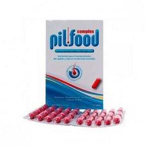 Pilfood Complex Cabellos y Uñas 120 Comprimidos - Tratamiento Anticaída
