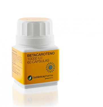 Betacaroteno 10.000ul 60 Cápsulas Botanicapharma - Bronceado Uniforme y Duradero, Previene Manchas Solares