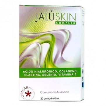 Jalùskin Complex 30 Comprimidos Gricar - Combate el Envejecimiento Cutáneo Contrarresta los Daños Causados por el Estrés Oxidativo