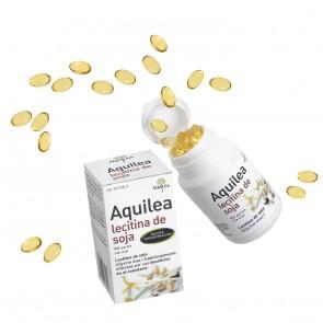 Aquilea Lecitina de Soja 90 Perlas - Colesterol y Concentración