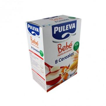 Puleva Bebé Papilla 8 Cereales con FOS 200 G