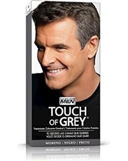 Touch Of Grey Gel Colorante Moreno Negro - Tratamiento Colorante Gradual de las Canas