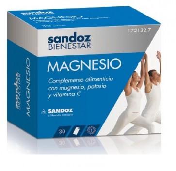Sandoz Bienestar MAGNESIO 30 sobres - magnesio, potasio, vitamina C