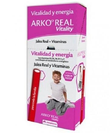 Arko Real Vitality 50 barritas Sabor Fresa - Gominolas de jalea real con vitaminas