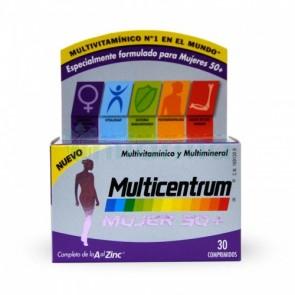 Comprar Multicentrum  Mujer 50+ 30 Comprimidos