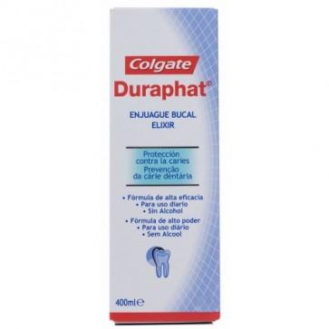 Comprar Duraphat Colutorio 400 Ml - Es un enjuage bucal indicado para la limpieza bucal en profundidad después del cepillado y una protección extra contra la formación de caries en pacientes mayores de 8 años