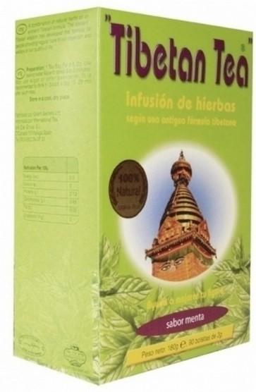 Té Tibetano Sabor Menta 30 Bolsitas de té 60 gr - Depuración del Organismo