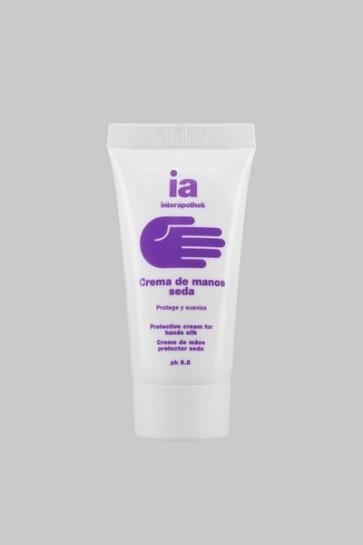 Crema de Manos 30 ml Extracto de Crisálida de Seda Interapothek - Formato de Viaje - Protección + Regeneración