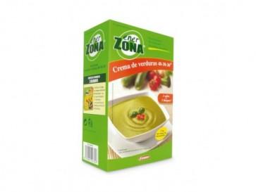 Enerzona Crema Verdura 40-30-30 4 Sobres - Comida Dieta de la Zona